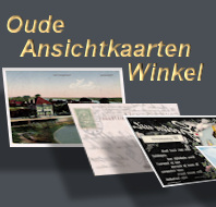 Oude ansichtkaarten winkel