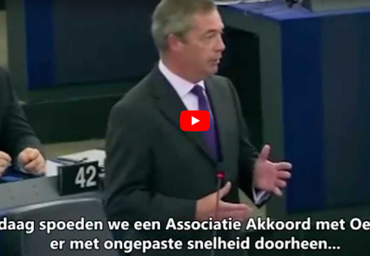 Oekraine, Farage , EU